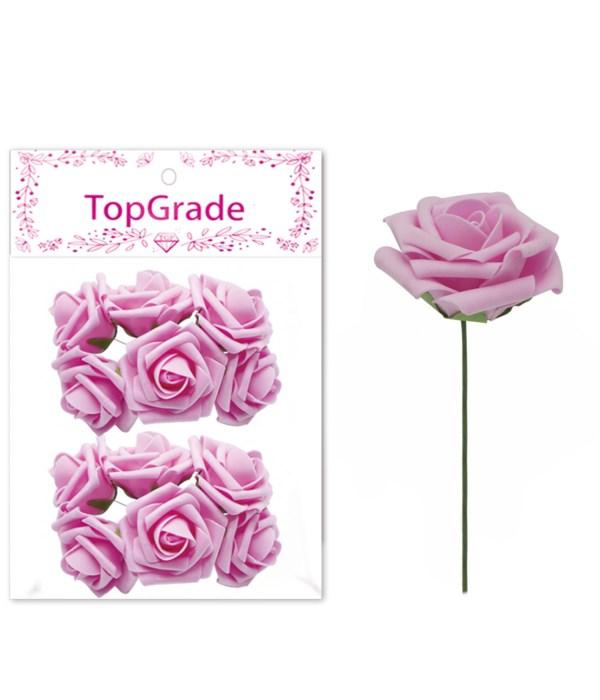 """3""""/12ct deco foam rose 6/120s"""