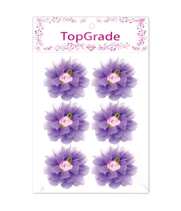 satin flower purple 12/576s