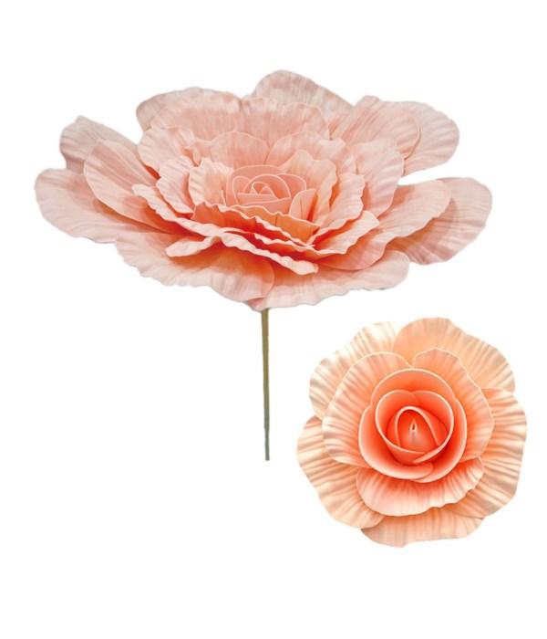 """8""""foam flower peach(nude pink)"""