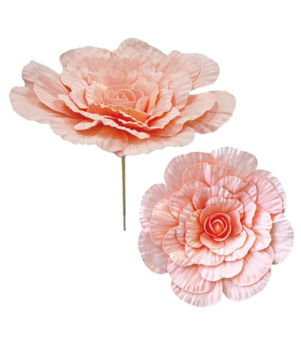 """24""""foam flower peach(nude"""