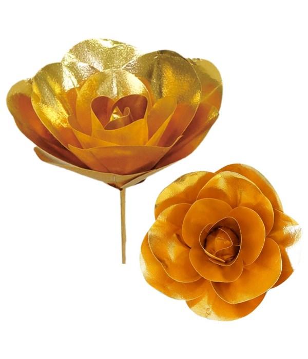 "12""shiny rose gold 12/48s"