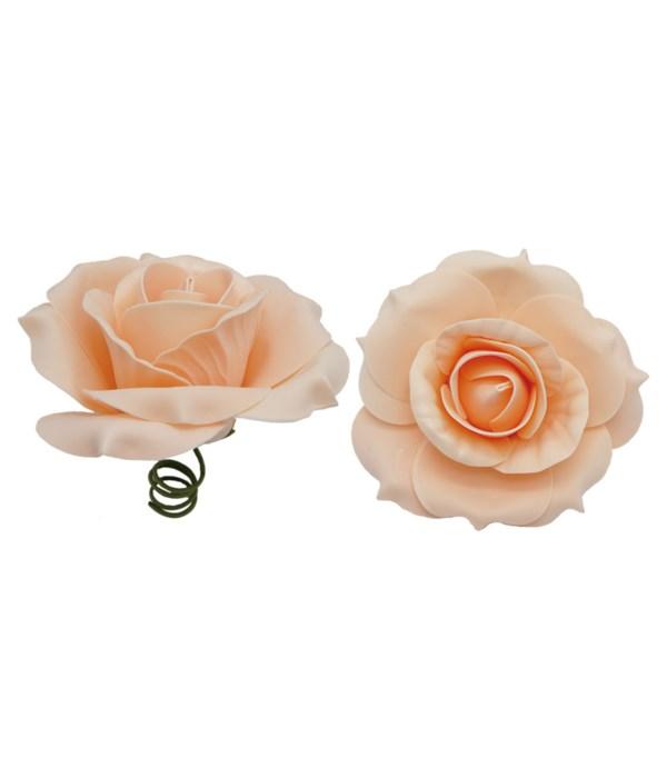 """8""""foam rose peach 6/96s"""