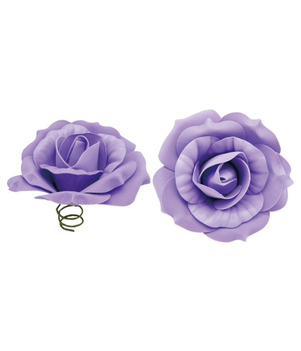 "8""foam rose pruple 6/96s"