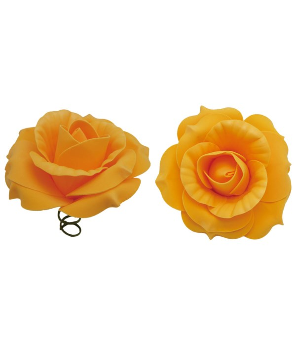 """12""""foam rose gold 6/72s"""
