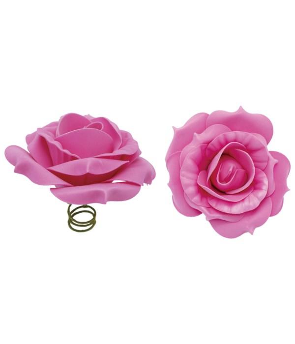 """12""""foam rose hot pink 6/72s"""