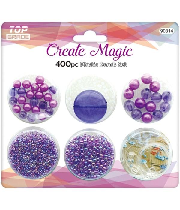 400ct beads set 12/240s