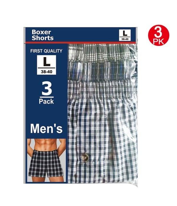 men's boxer shorts/L 48pk/cs
