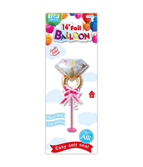 "14"" foil balloon 12/120s"