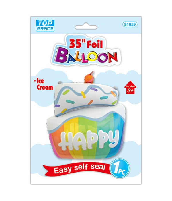 """35""""foil shaped balloon 12/288s"""