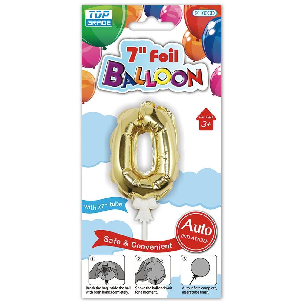 Auto inflating ballonons
