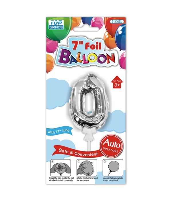"""7"""" auto inflatable balloon #0"""