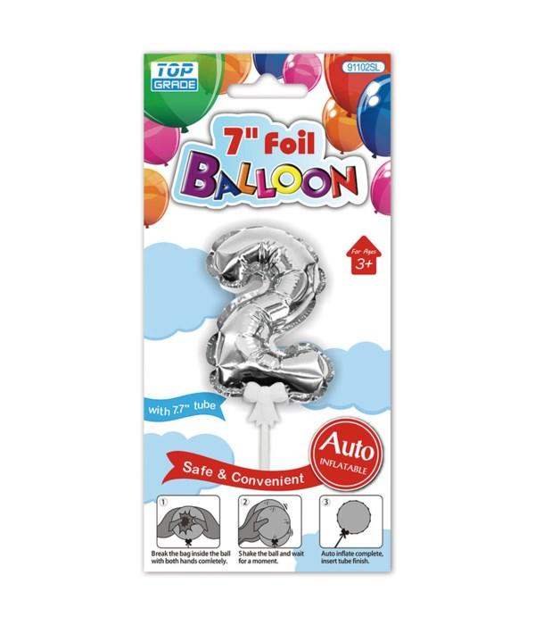 """7"""" auto inflatable balloon #2"""