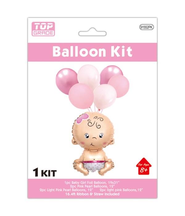 7pc balloon baby shower 12/300