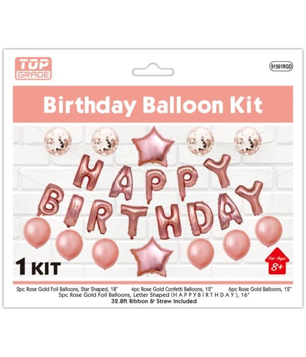 25PCS Birthday Balloon 6/120's