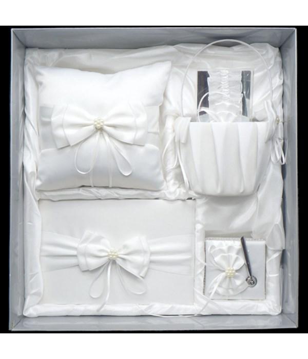 5pc wedding pillow set 4s