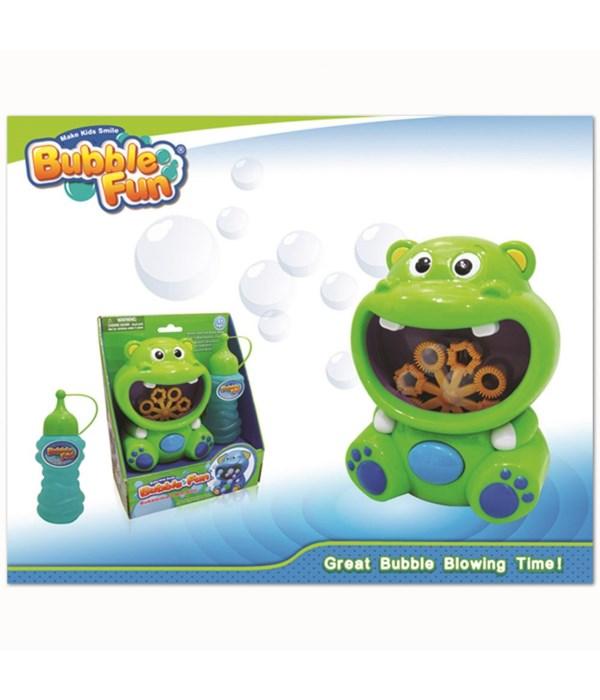 Hippo bubble maker 12/36