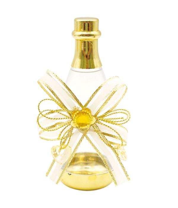 #92262 champagne bottle gold