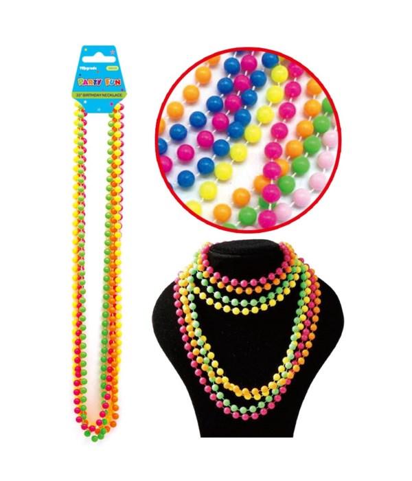 plastic necklace 12/288s