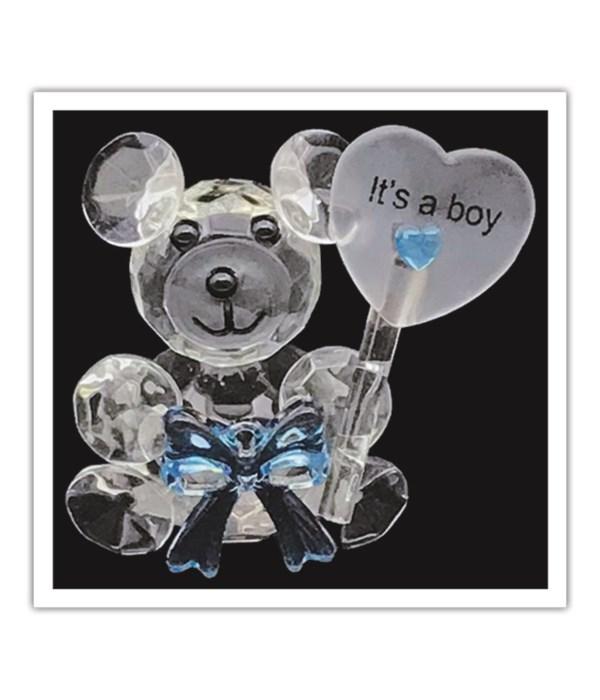 crystal bear it's a boy