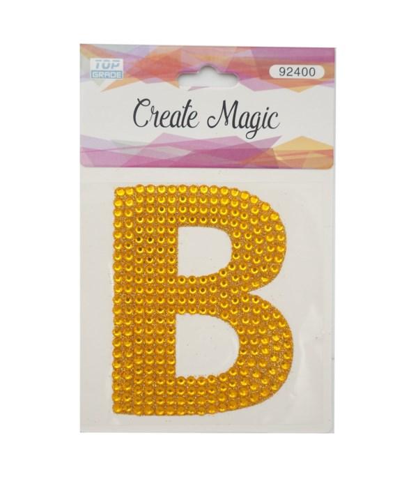 "crystal sticker ""B"" 12/1200s"