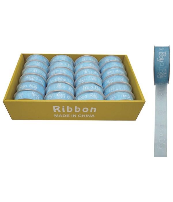 ribbon it's a boy 24/576s