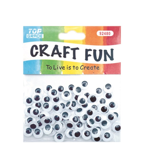 wiggle eyes 10mm-80ct 12/288s