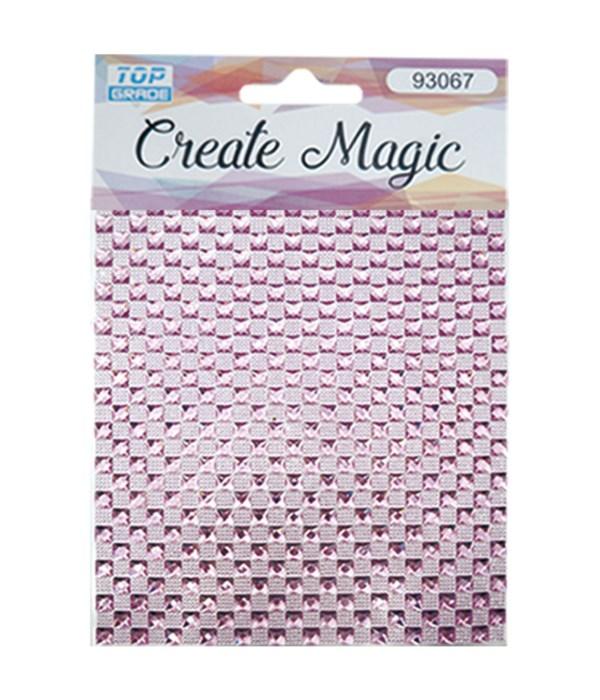 rhinestone sticker bb-pink