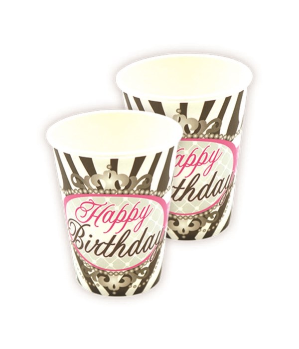 9oz/10ct b'day cup 24/144s