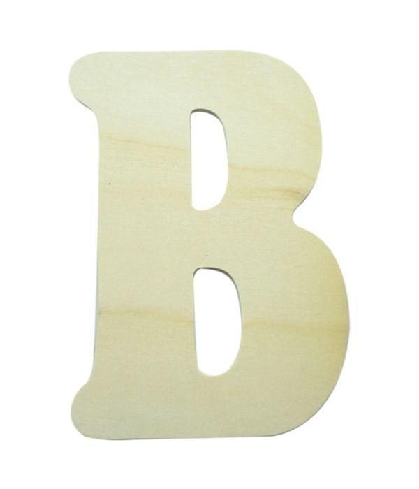 """7"""" wooden Letter B 12/600s"""