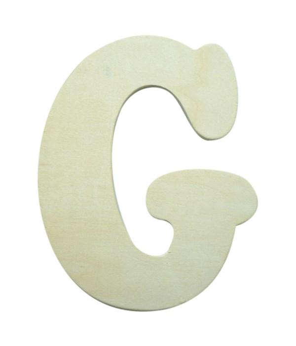 """7"""" wooden Letter G 12/60s"""