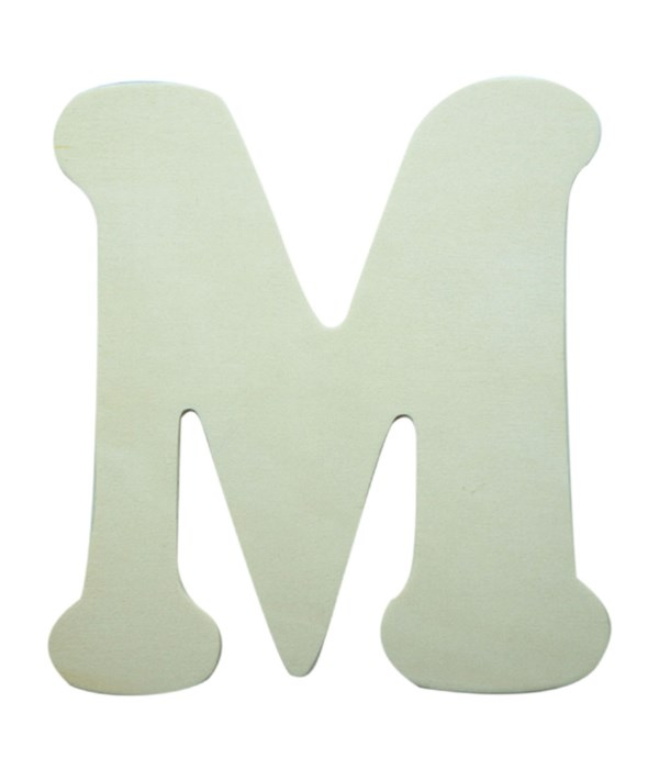 "7"" wooden Letter M 12/60s"