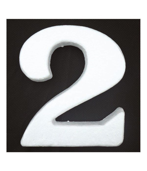 "6"" foam number 2 6/120's"