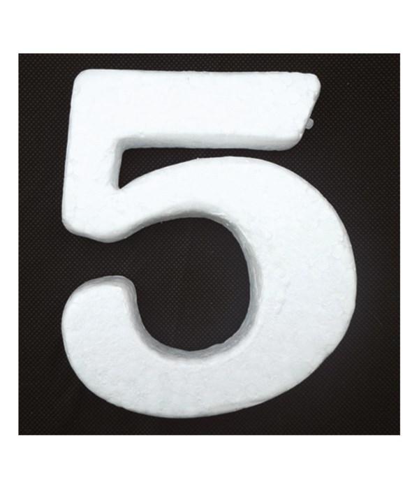 "6"" foam number 5 6/120's"