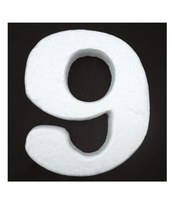 "6"" foam number 9 6/120's"