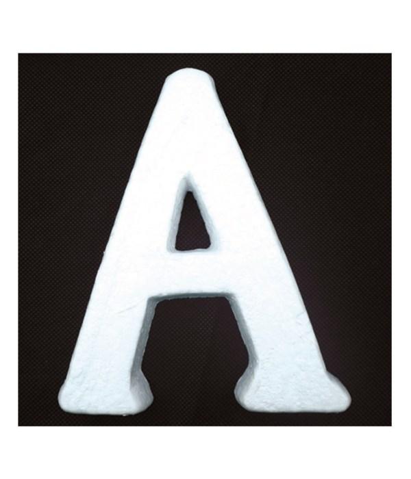 """6"""" foam letter A 6/120's"""