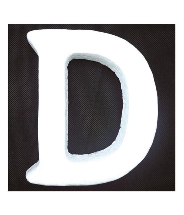 """6"""" foam letter D 6/120's"""