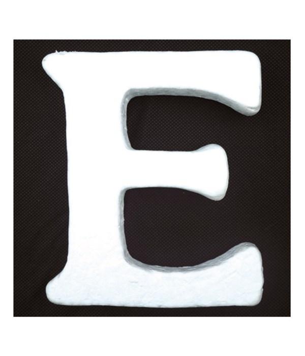 """6"""" foam letter E 6/120's"""