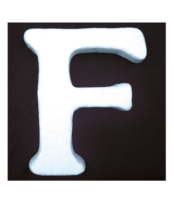"""6"""" foam letter F 6/120's"""