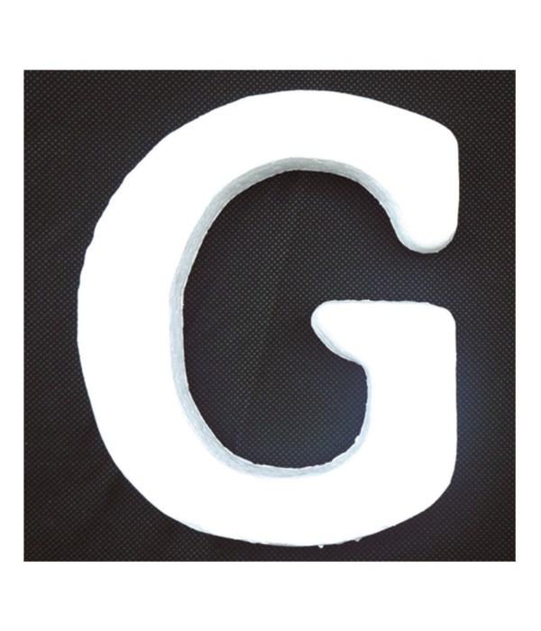 """6"""" foam letter G 6/120's"""