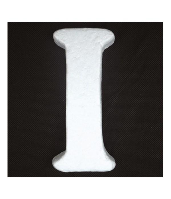 """6"""" foam letter I 6/120's"""