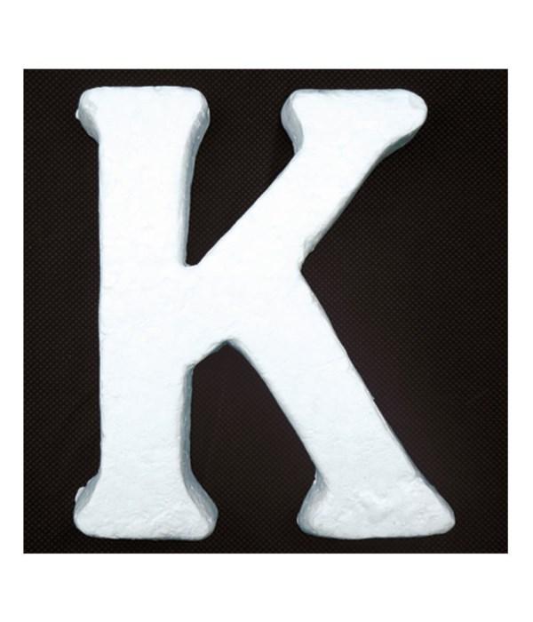 """6"""" foam letter K 6/120's"""
