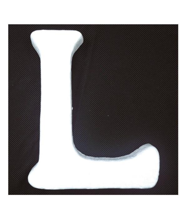 """6"""" foam letter L 6/120's"""