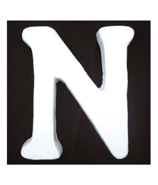 """6"""" foam letter N 6/120s"""