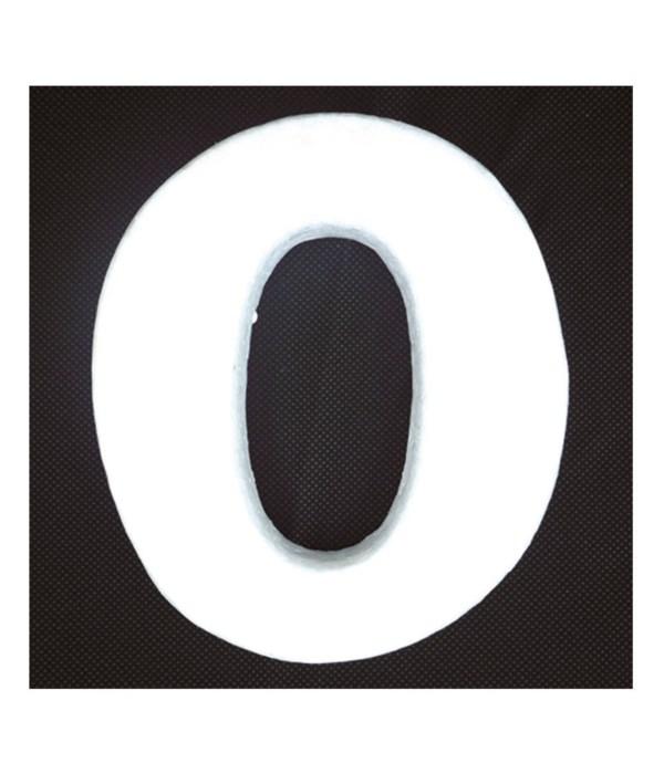 """6"""" foam letter O 6/120s"""