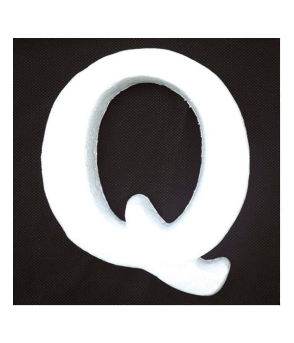 "6"" foam letter Q 6/120's"