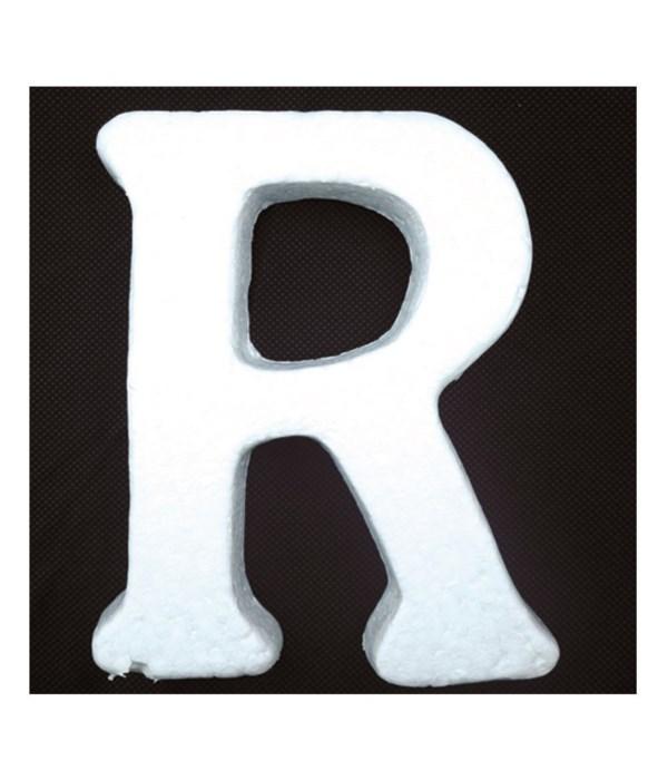 """6"""" foam letter R 6/120's"""