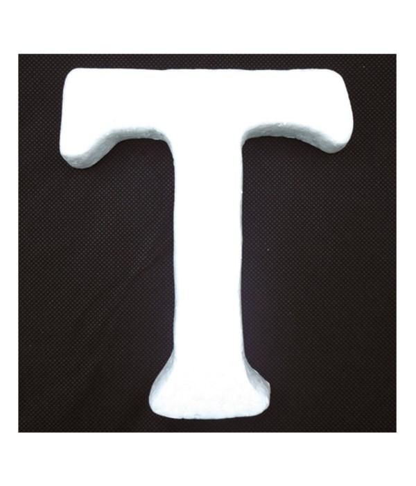 """6"""" foam letter T 6/120's"""