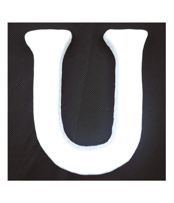 """6"""" foam letter U 6/120's"""