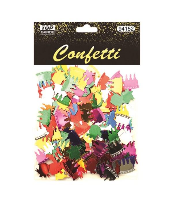 confetti b'day cake+gift12/288
