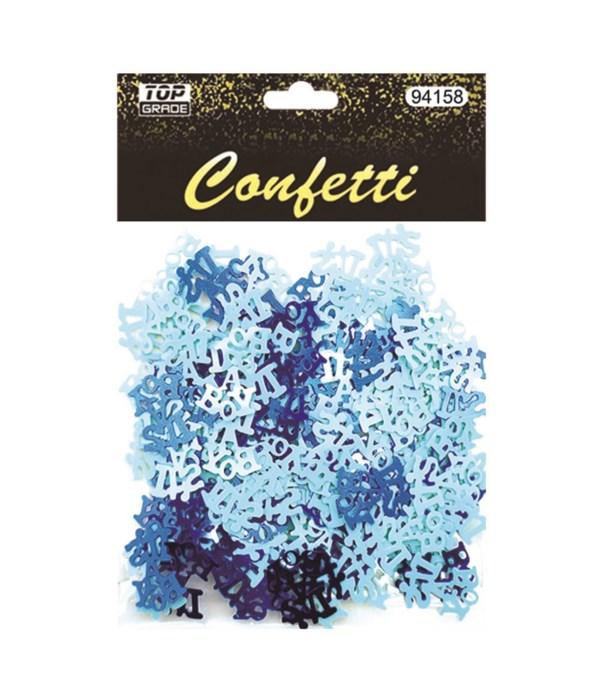 """confetti """"it is a boy"""" 12/288s"""